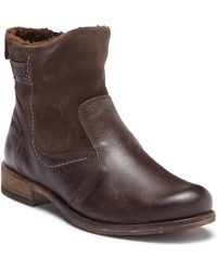 Josef Seibel - Sienna Leather Faux Fur Lined Boot - Lyst