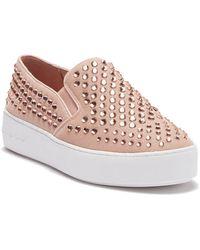 e0620eecc69a1 MICHAEL Michael Kors - Trent Slip-on Platform Sneaker - Lyst