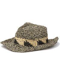 Caslon - Marled Pattern Cowboy Hat - Lyst