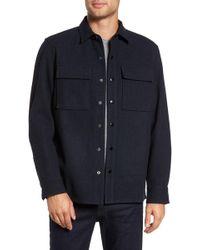 Calibrate - Wool Blend Shirt Jacket - Lyst