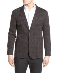 Bugatchi - Plaid Wool Blazer - Lyst