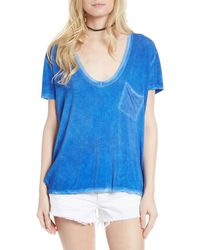 Free People Rising Sun Tee - Blue