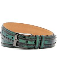Mezlan - Shade Leather Belt - Lyst
