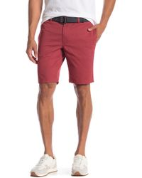 Tailor Vintage - Modern Slim Stretch Fit Twill Walk Shorts - Lyst