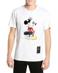20e0262f Rag & Bone - Mickey Mouse Collage Unisex Graphic T-shirt - Lyst