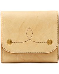 Frye - Campus Rivet Medium Leather Wallet - Lyst