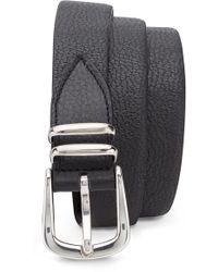 Eleventy - Stretch Leather Belt - Lyst