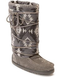 Manitobah Mukluks - Wool Lace-up Mukluk - Lyst