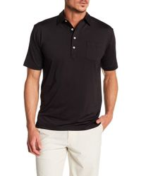 Peter Millar - Solid Stretch Jersey Polo - Lyst