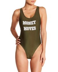 YMI - Money Moves One-piece Swimsuit (plus Size) - Lyst
