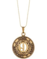 ALEX AND ANI - Numerology Number 9 Charm Adjustable Necklace - Lyst