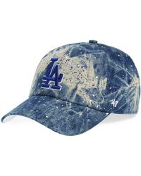 e59027bdc94 Lyst - 47 Brand Women s Toronto Maple Leafs Fiona Pom Knit Hat in Blue