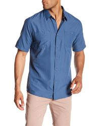 Quiksilver - Wakeslide Woven Short Sleeve Regular Fit Shirt - Lyst