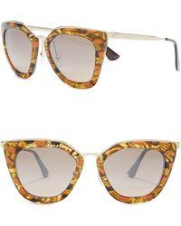 f210e38bcf82 Prada - Cinéma Cat-eye Sunglasses - Lyst