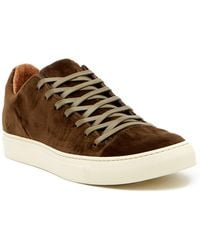 John Varvatos | 315 Reed Low Top Velvet Sneaker | Lyst