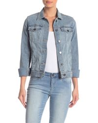 605b37c4e754 Articles of Society Taylor Denim Jacket in Black - Lyst