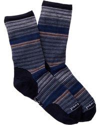 Smartwool | Horizon Stripe Crew Socks | Lyst