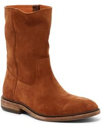 Frye - Chris Pull On Suede Boot - Lyst