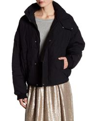 Free People - Slouchy Puffer Coat - Lyst