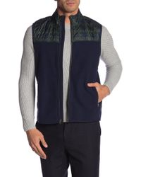 Brooks Brothers - Quilted Polar Fleece Vest - Lyst