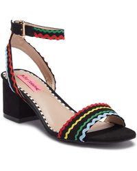 Betsey Johnson - Farrah Ankle Strap Sandal - Lyst
