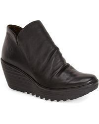 Fly London | 'yip' Wedge Bootie | Lyst