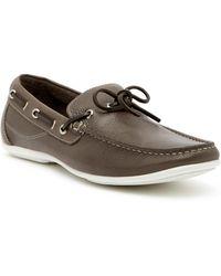 Gordon Rush - Tie Leather Boat Shoe - Lyst
