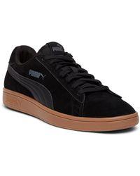 47e7b7acb7b9 Lyst - Puma Smash Suede Sneaker in Black for Men