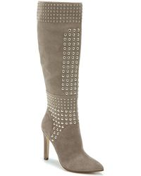 Fergie - Danica Studded Boots - Lyst
