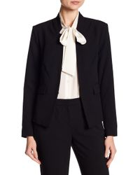 Ellen Tracy - Inverted Rever Jacket - Lyst