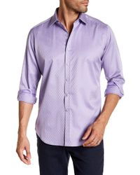 Robert Graham - Winetavern Regular Fit Print Woven Shirt - Lyst