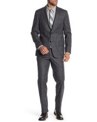 Hickey Freeman - Classic Fit Wool & Cashmere Plaid Suit - Lyst
