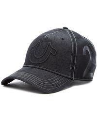 6b1699594c8 Lyst - Caterpillar Raised Logo Cap in Black for Men - Save 17%