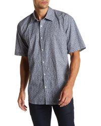 James Campbell - Knell Short Sleeve Woven Shirt - Lyst