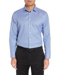 Calibrate - Trim Fit Non-iron Dress Shirt - Lyst