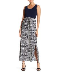 Sienna Rose - Printed Skirt Dress - Lyst