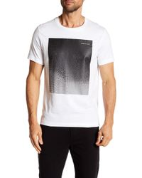 Kenneth Cole - Ombre Hexagon Graphic Print Tee - Lyst