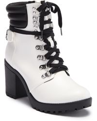 MIA - Annamaria Lace-up Bootie - Lyst