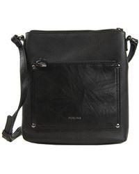 Perlina - Judi Leather Crossbody Bag - Lyst