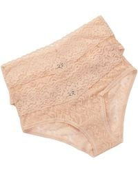 Felina | Lace Hipster Set - Pack Of 2 | Lyst