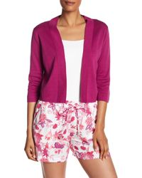 Tommy Bahama - Pickford Cropped Cardigan - Lyst