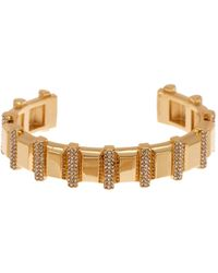 Vince Camuto - Crystal Pave Cuff - Lyst