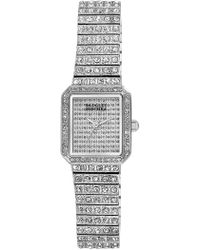 Badgley Mischka - Women's Swarovski Crystal Accented Bracelet Watch, 20mm - Lyst