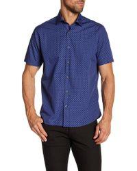Robert Barakett - Gabriel Short Sleeve Woven Shirt - Lyst