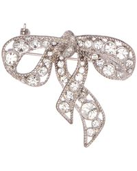 Marc Jacobs - Bow Brooch - Lyst