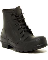 HUNTER - Original Waterproof Lace-up Boot - Lyst