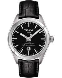 Tissot - Men's Luxury Powermatic 80 Cosc Bracelet Watch, 41mm - Lyst