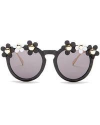 Cara - Women's Daisy Round Sunglasses - Lyst