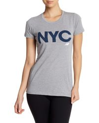 New Balance - Short Sleeve Nyc Tee - Lyst