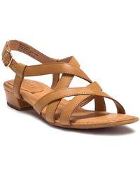 31b623cda8b8 Born - Bouvet Easy Leather Sandal - Lyst